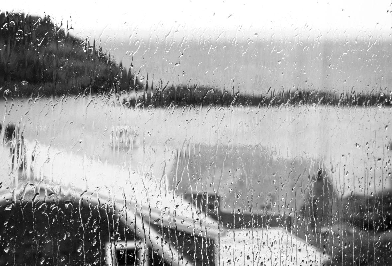 Rainy day on Monhegan Island