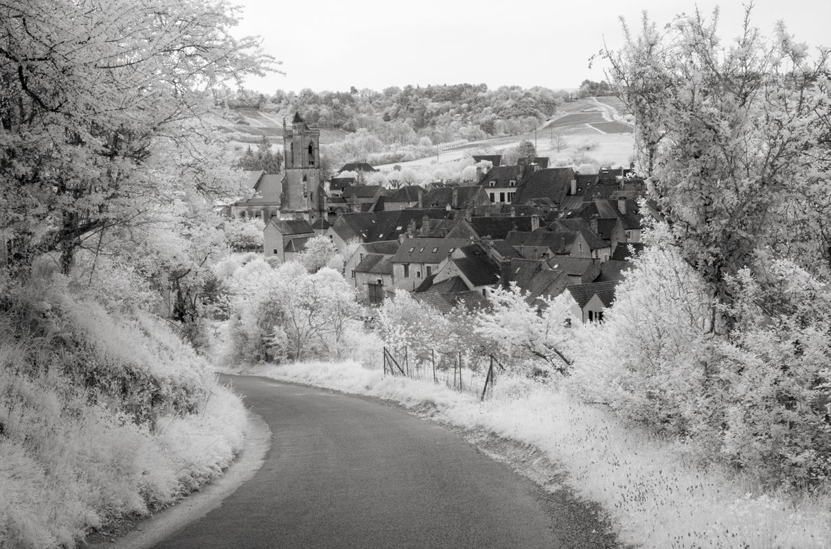 Entering the Village, Infrared