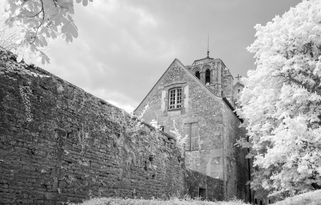Vezelay, Infrared