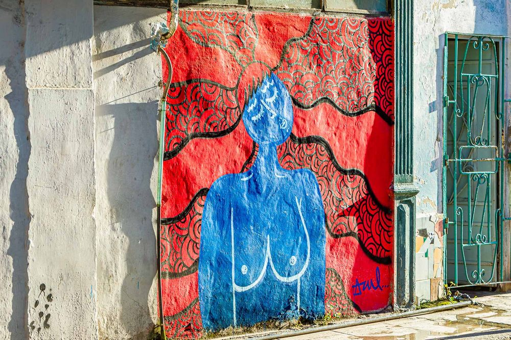 cuba_nude_red_white_blue_azul_wall.jpg