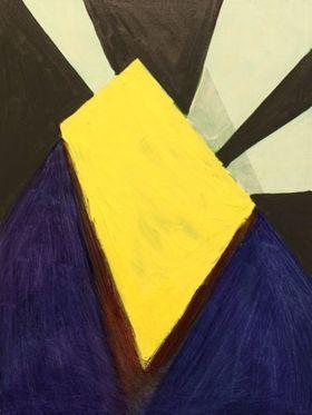 """""""Yellow Door, w Shadow,"""" 2011"""