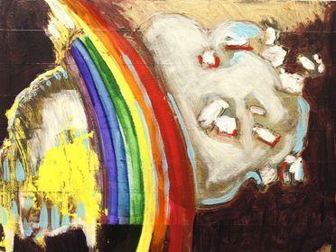 """Buddha Behind Cloud,"" 2011"