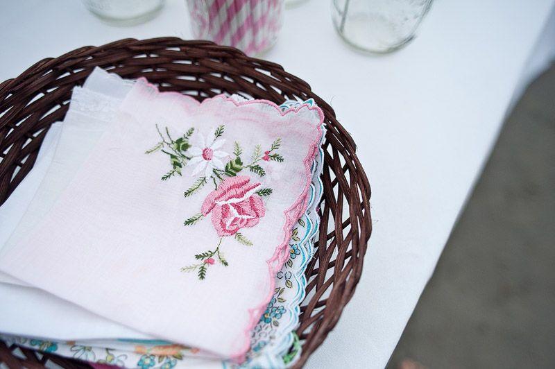 Antique Handerchief