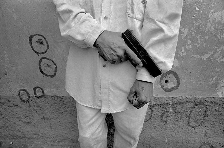 pistol & swastika