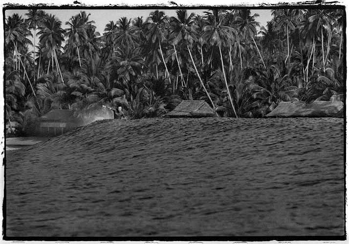 Surfing at Lagund Bay