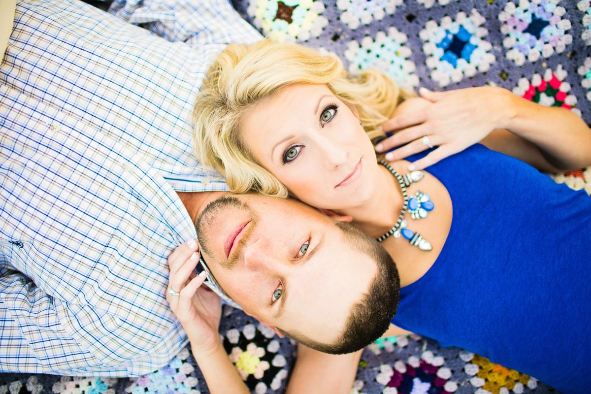 Engagement Hair and Makeup in Houston
