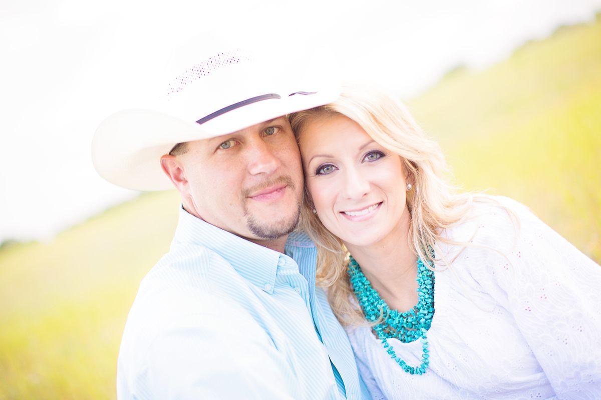 Waco Engement Couple