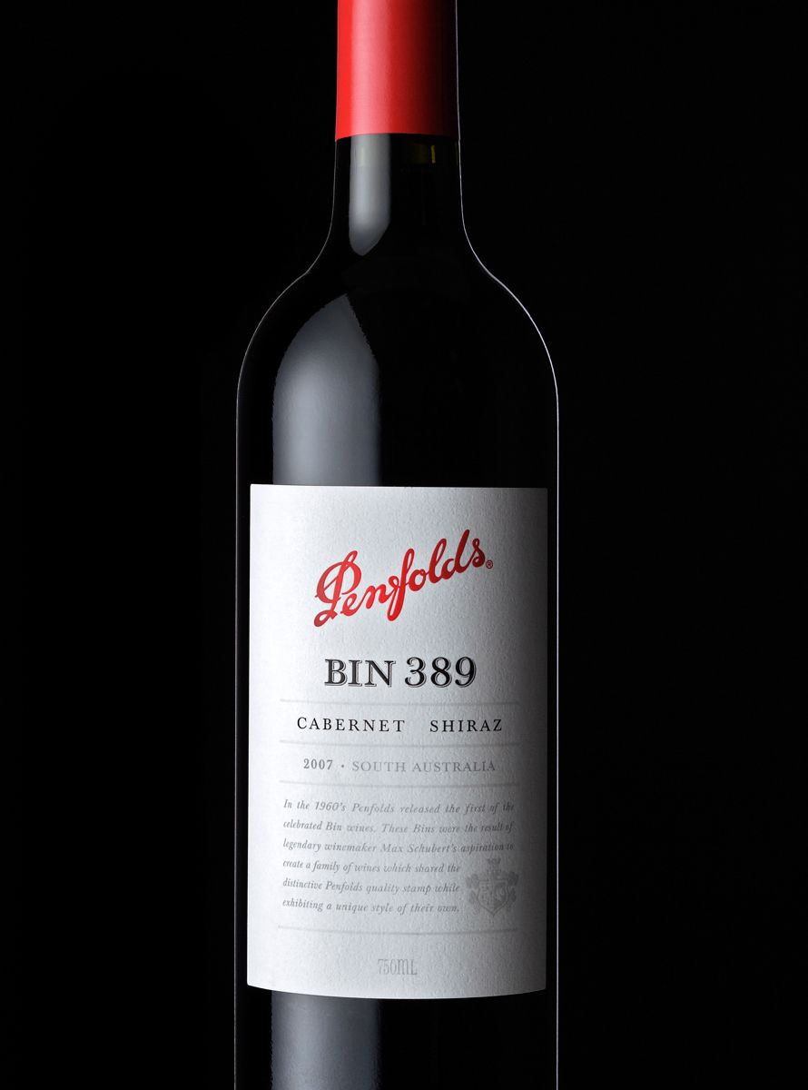 Penfolds Wine Bottle