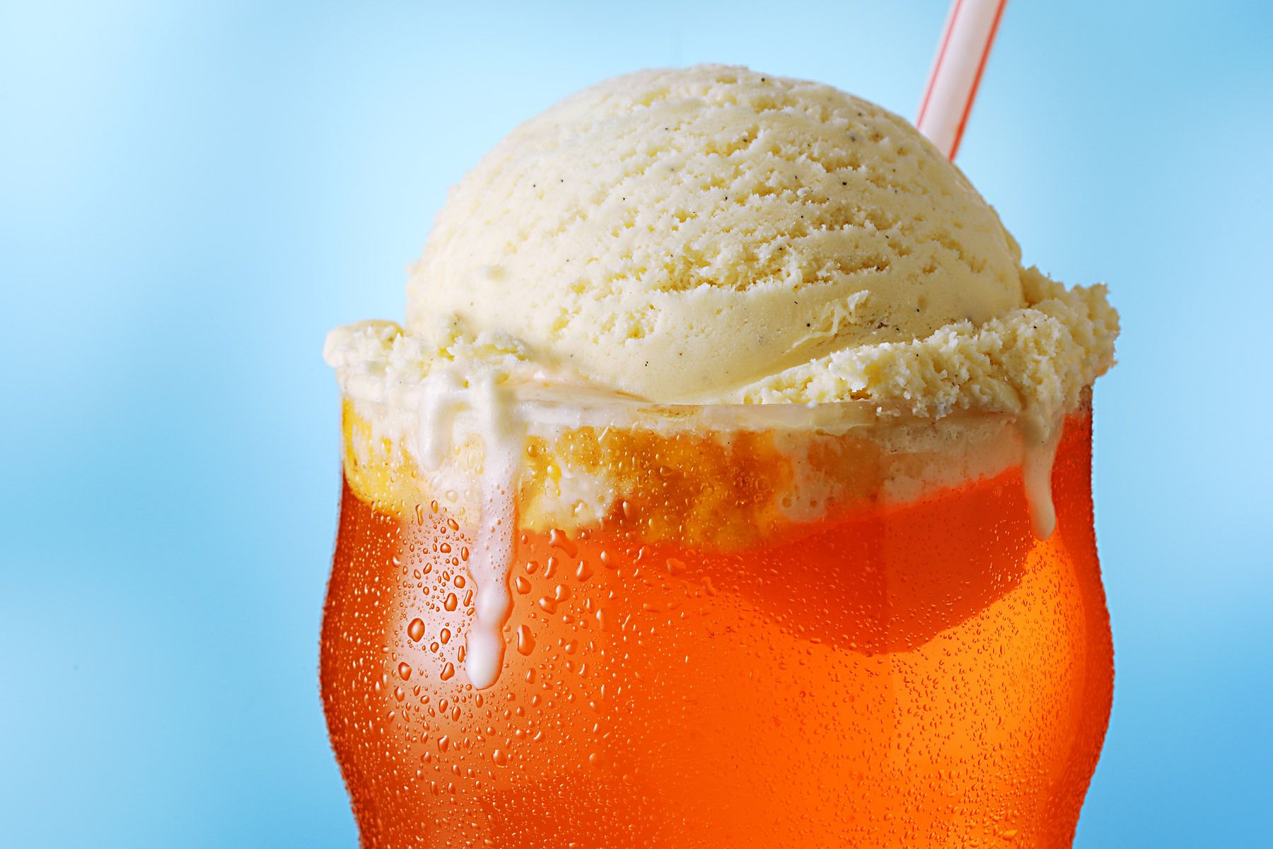 French Vanilla Ice Cream float