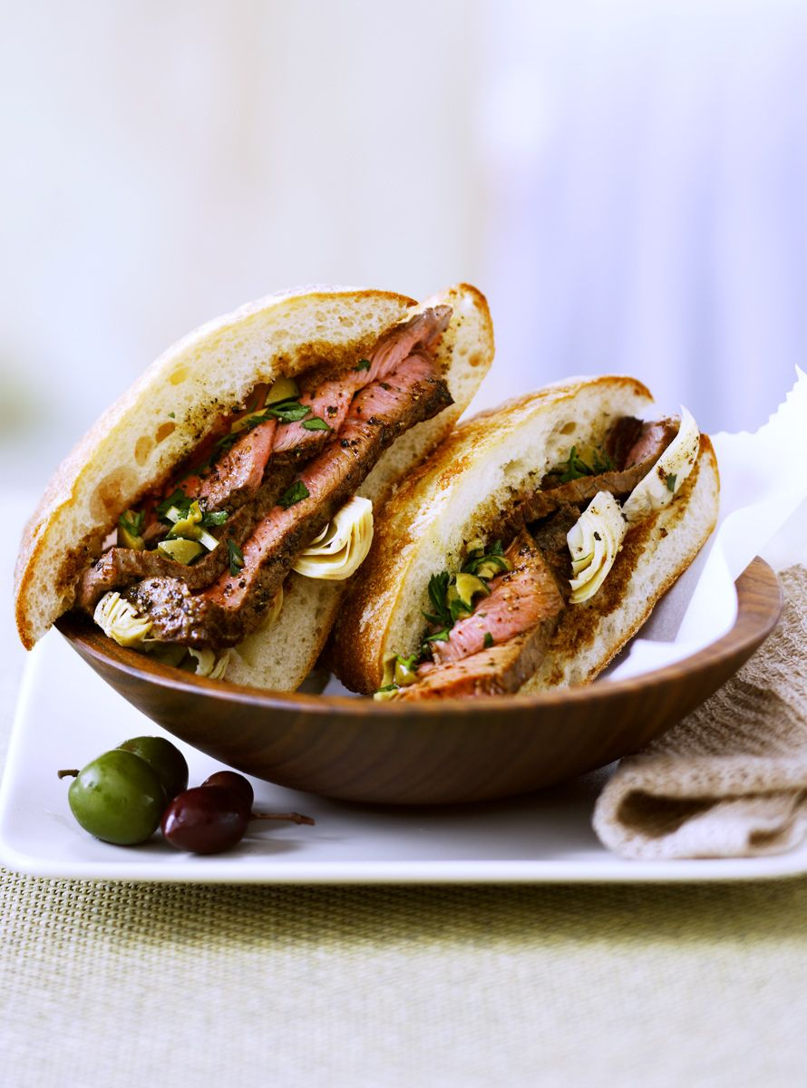 Steak Chiabatta Sandwich