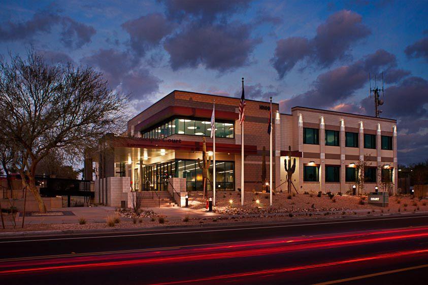 Peoria Courts Building   Peoria   AZContractor: Layton Construction