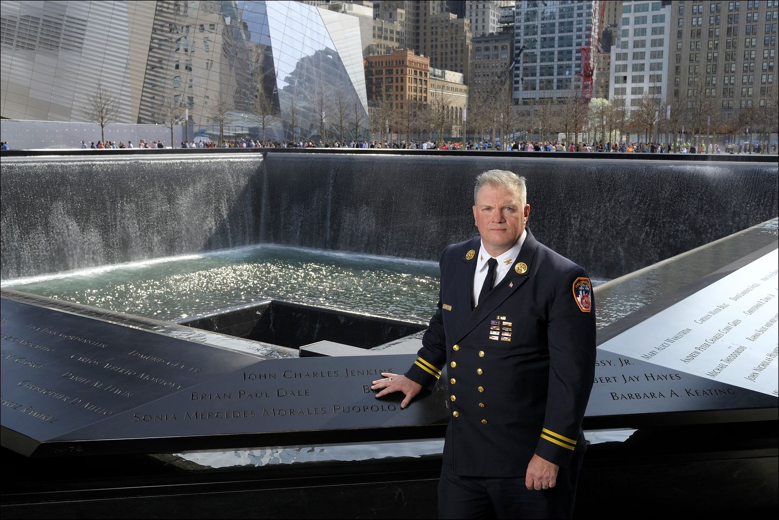 Deputy Chief John A. (Jay) Jonas, NYFD Battalion Chief