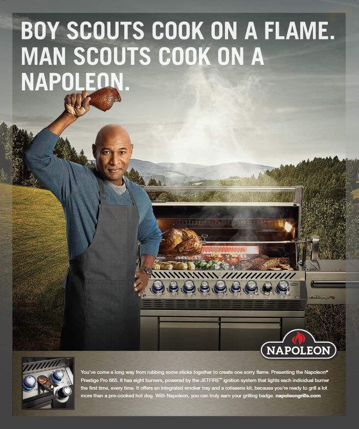 Client: Napoleon Grills; Agency: HY Connect