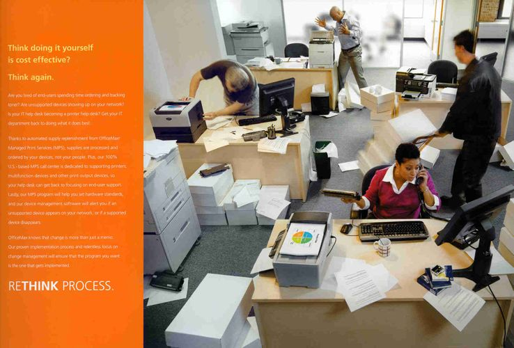 Client: Office Max ; Photography: Robert Randall