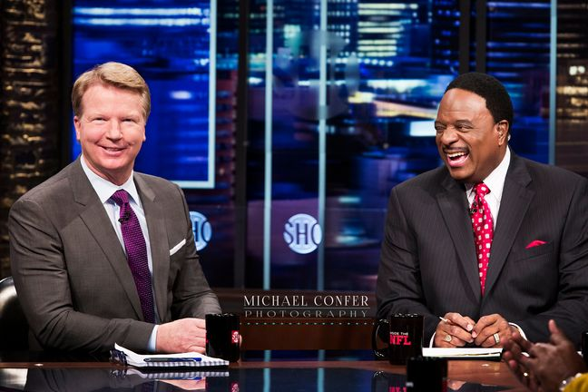 mconfer Inside the NFL Phil Simms James Brown.jpg