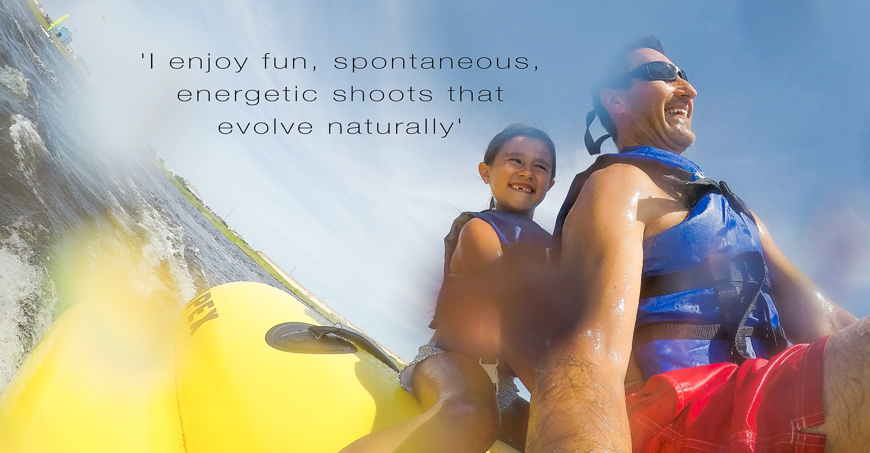 Self Portrait with Daughter riding a BananaBoat at OBX North Carolina.jpg