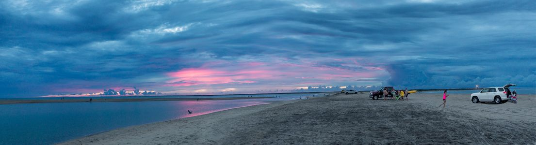 LandScape Panorama - Cape Hatteras Beach at Dusk.jpg