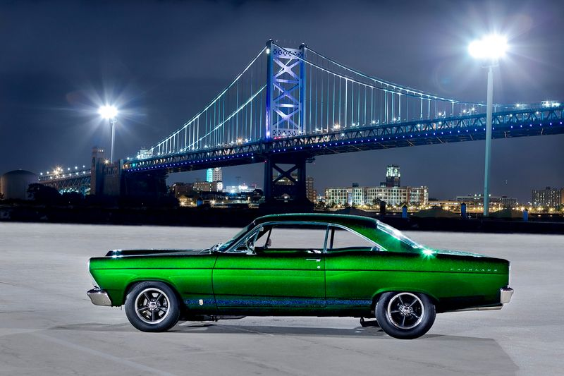 This page is a Journal entry about a 1966 Ford Fairlane