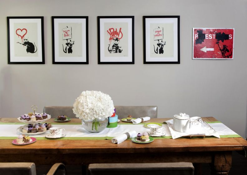 Creative Director of Kate Spade, Deborah Lloyds home in Brooklyn.