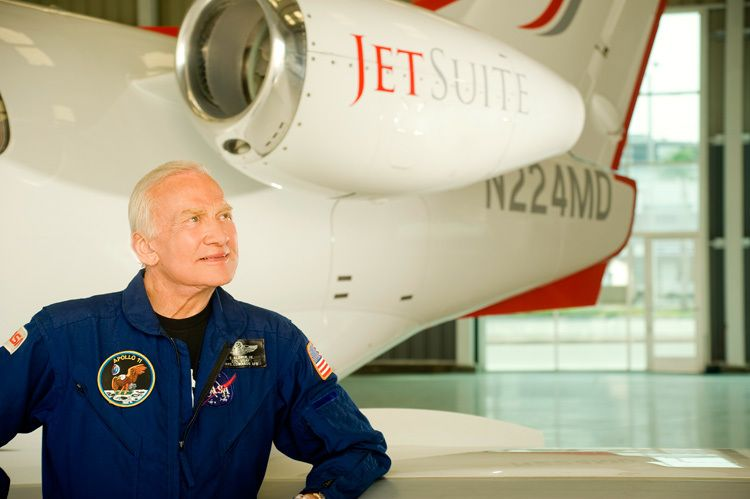 Buzz Aldrin for JetSuite
