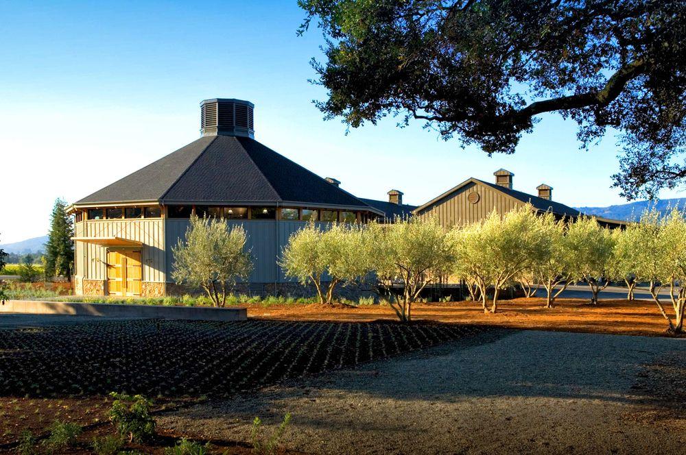 Paraduxx Winery Fermentation Building in Napa California