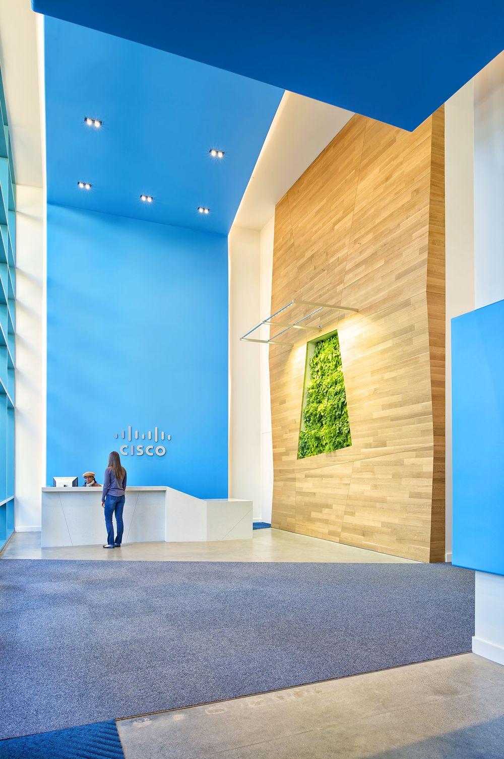 Cisco Building 11 Reception Lobby