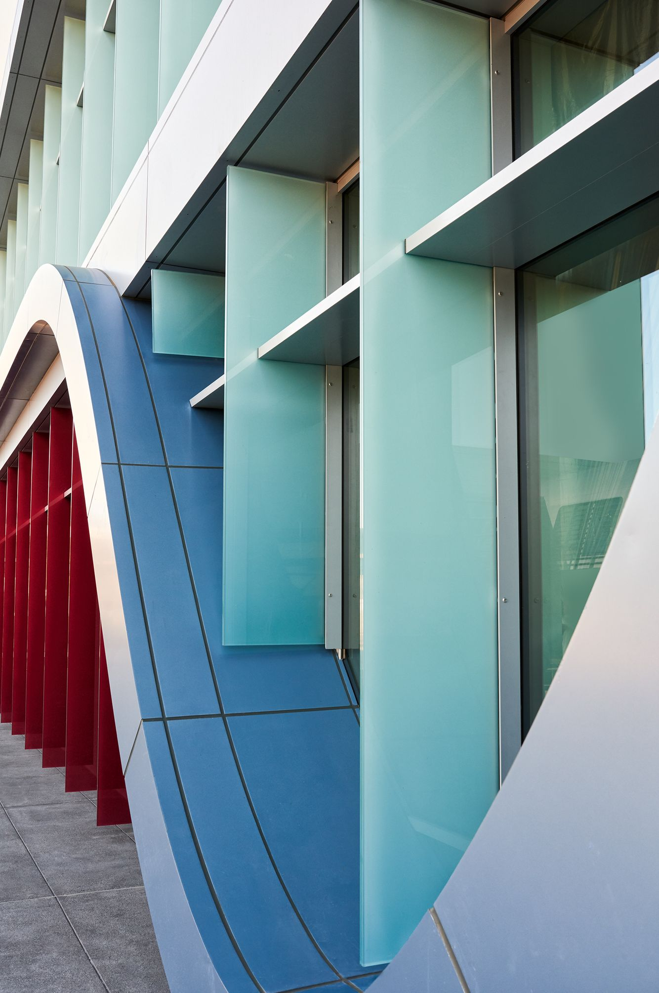 Architectural Photography - Innovation Curve Building