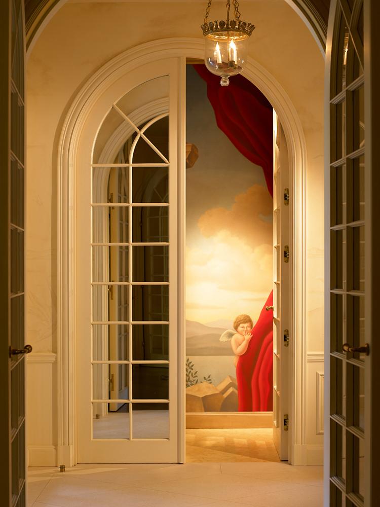 John-Sutton-Photography-Angel Through Doors