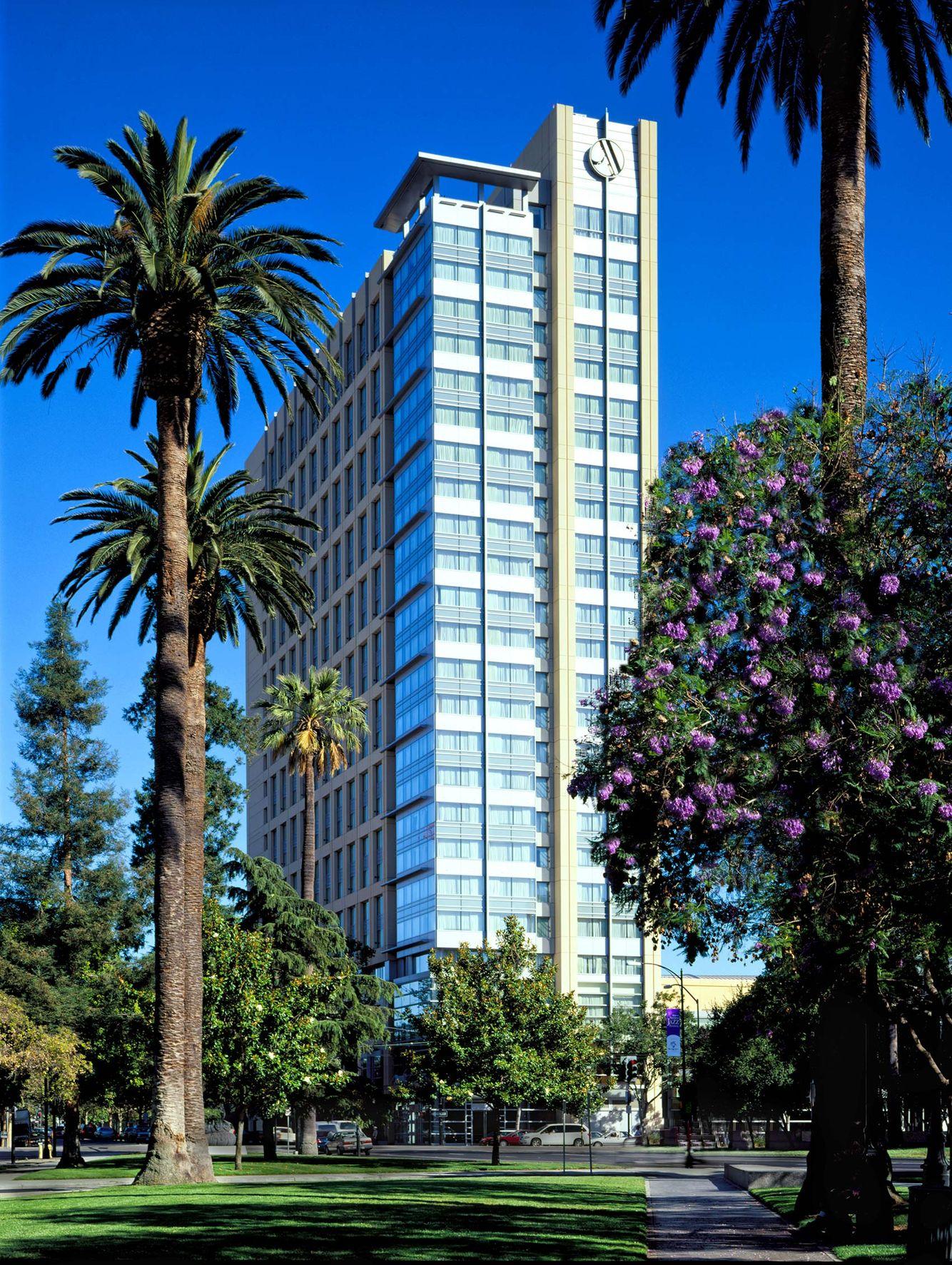 John-Sutton-Photography-Marriott San Jose Exterior