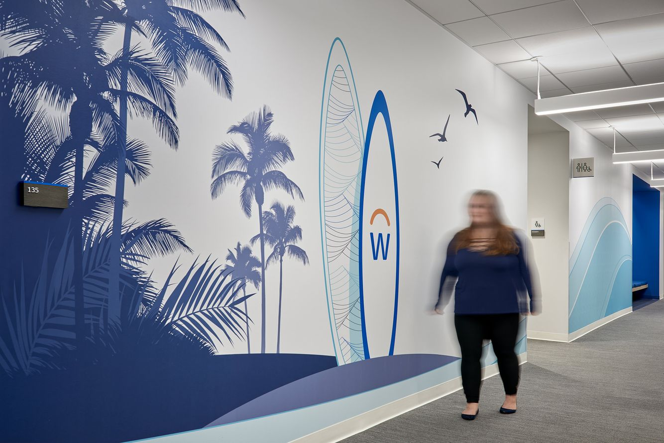 Workday training center graphics
