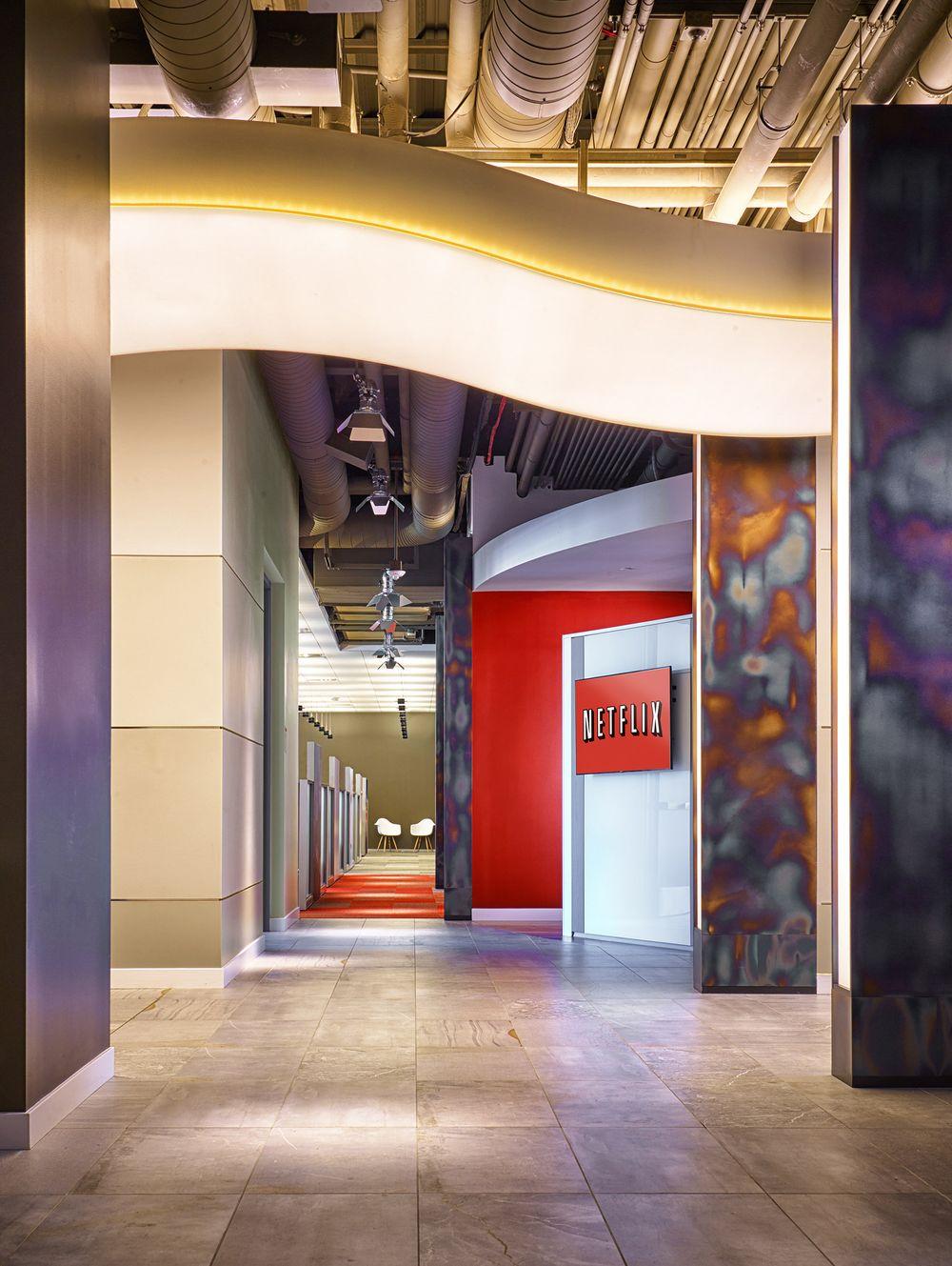 Netflix Headquarters Hallway