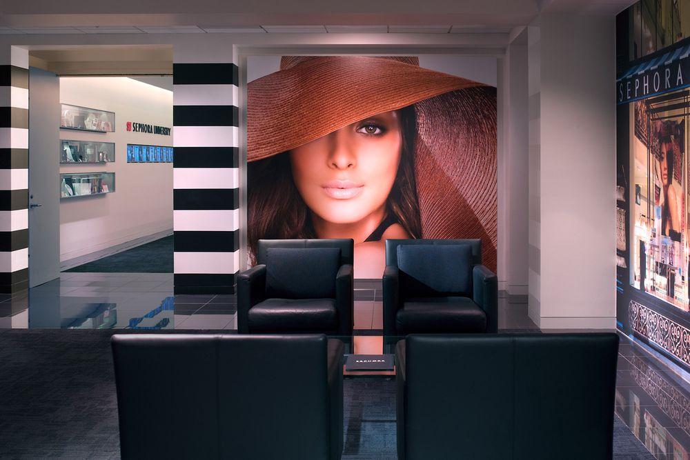 Sephora University Reception Lobby