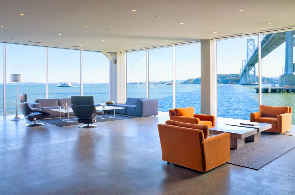 Pier 24 Office overlooking the San Francisco