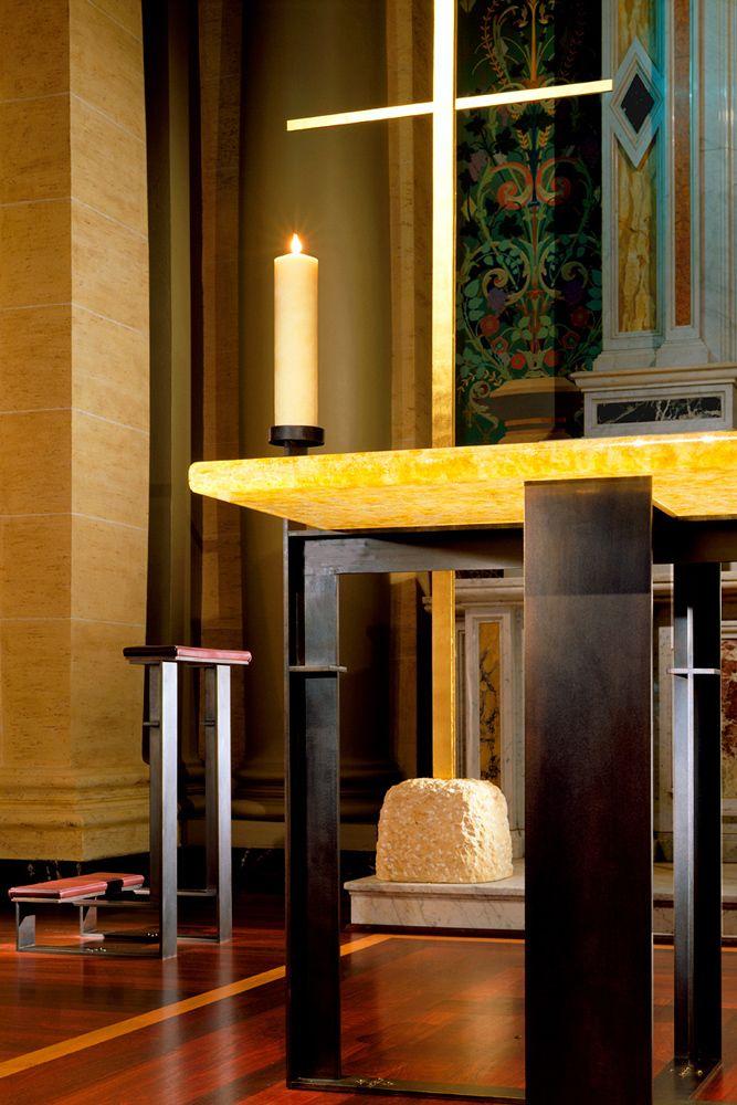 Saint Ignatius Cathedral Altar Detail San Francisco California