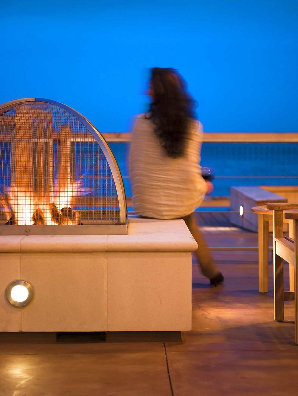 John-Sutton-Photography-InterContinental Hotel Monterey Bay Firepit