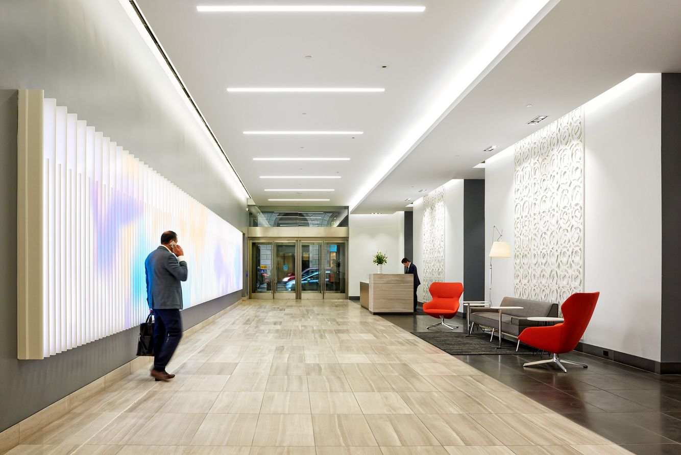 Architectural Photography - 44 Montgomery Street Lobby