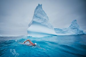 5 swims | UNITED NATIONS & LEWIS PUGH
