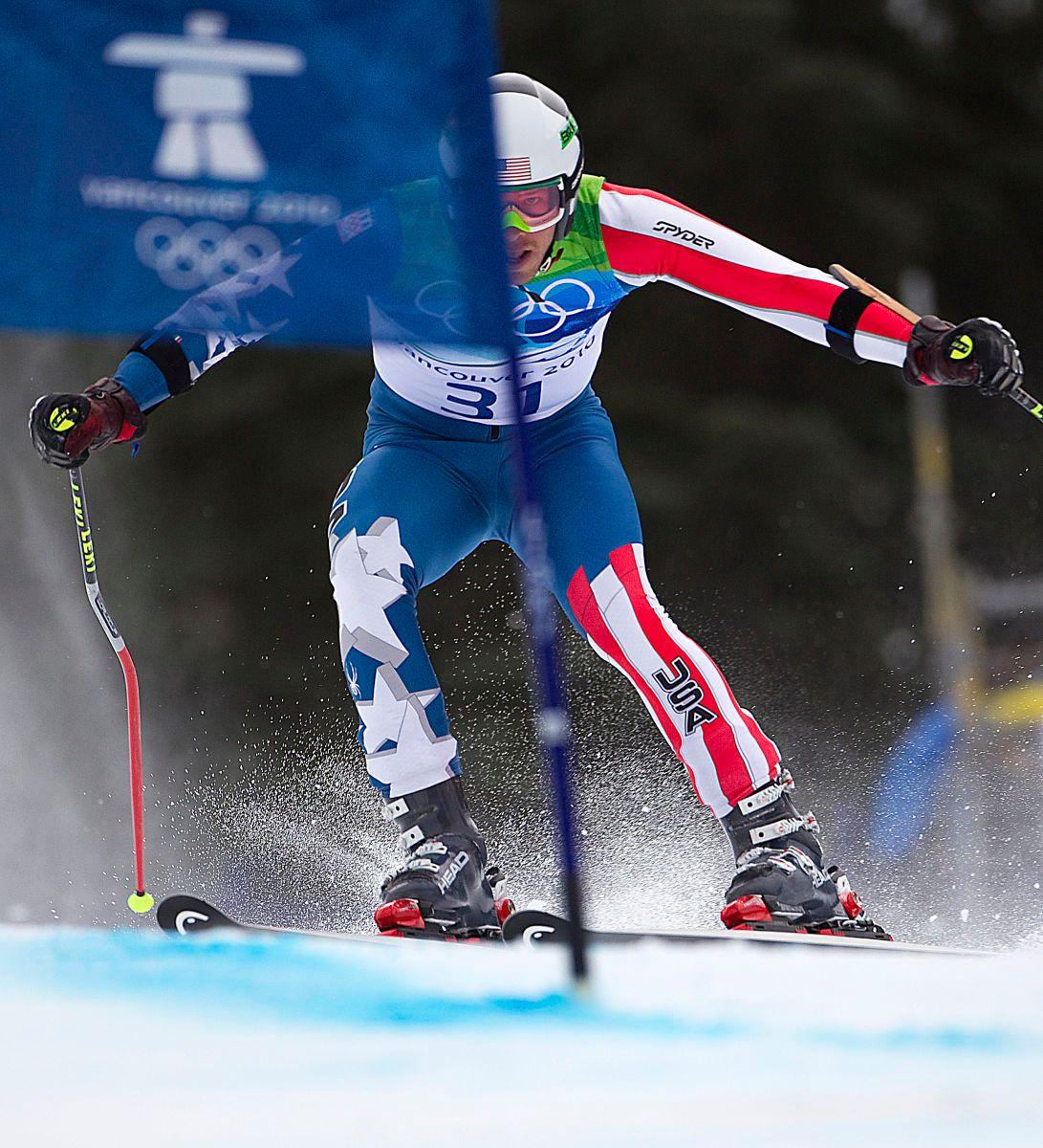 Bode Miller USA GS Whistler Olympics