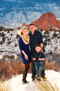 family pictures Colorado Springs