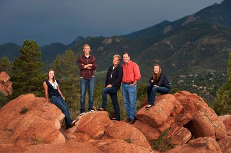 Family portrait Garden of the Gods 4