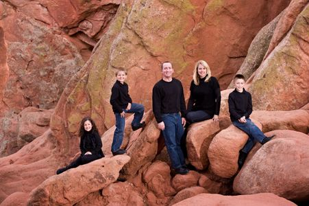 Garden of the Gods family portraits