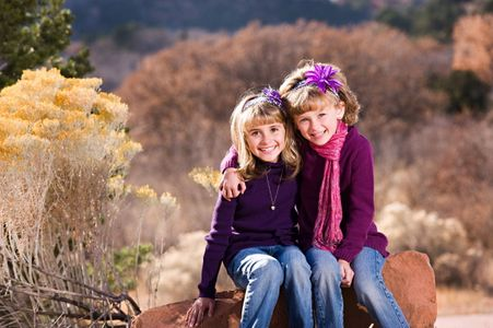 children's portraits garden of the gods