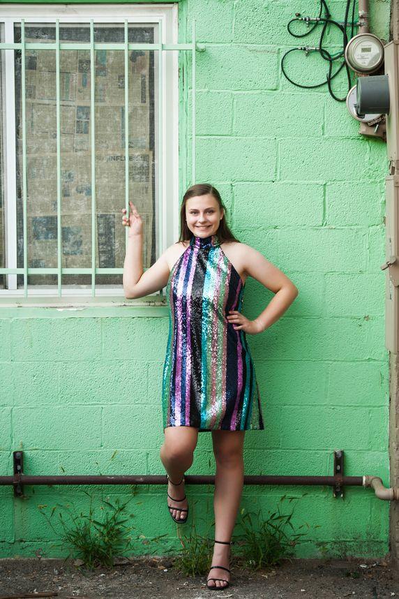 colorado springs urban high school senior portraits
