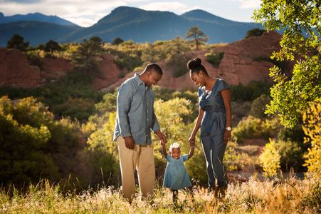 family portraits in Red Rock Canyon