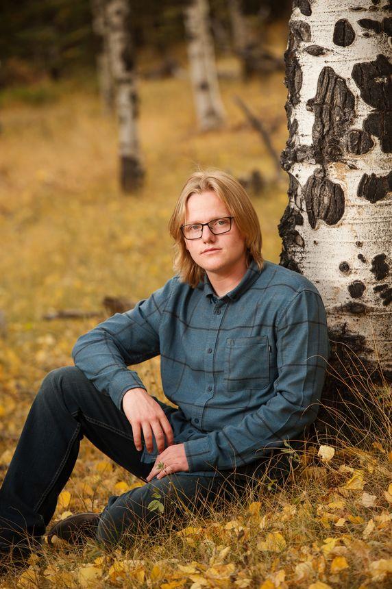 aspen tree fall portraits