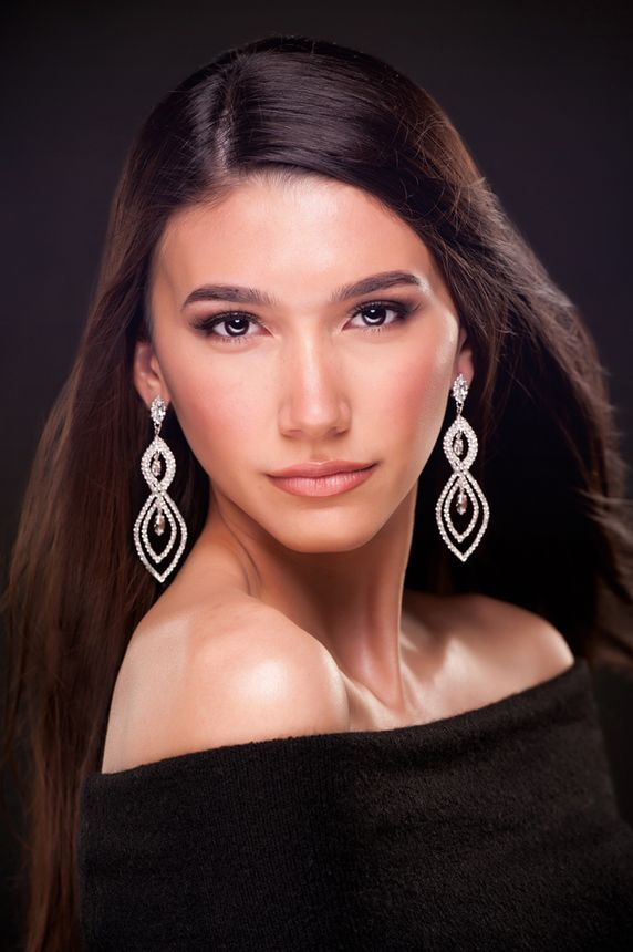 Pageant modeling Portraits