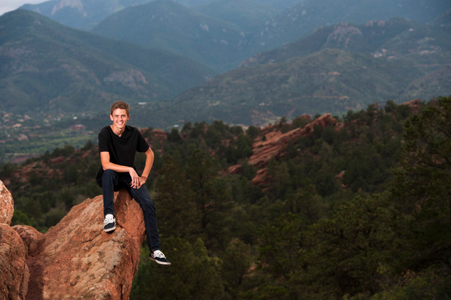 colorado springs outdoor high school senior pictures