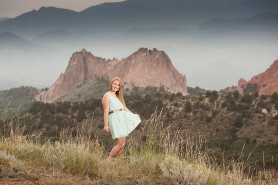 senior portraits colorado springs  monument
