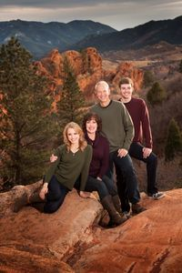 family pictures Garden of the Gods