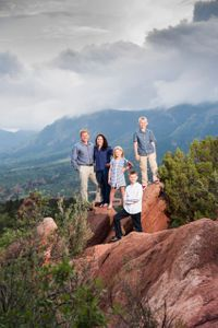 family portrait colorado springs